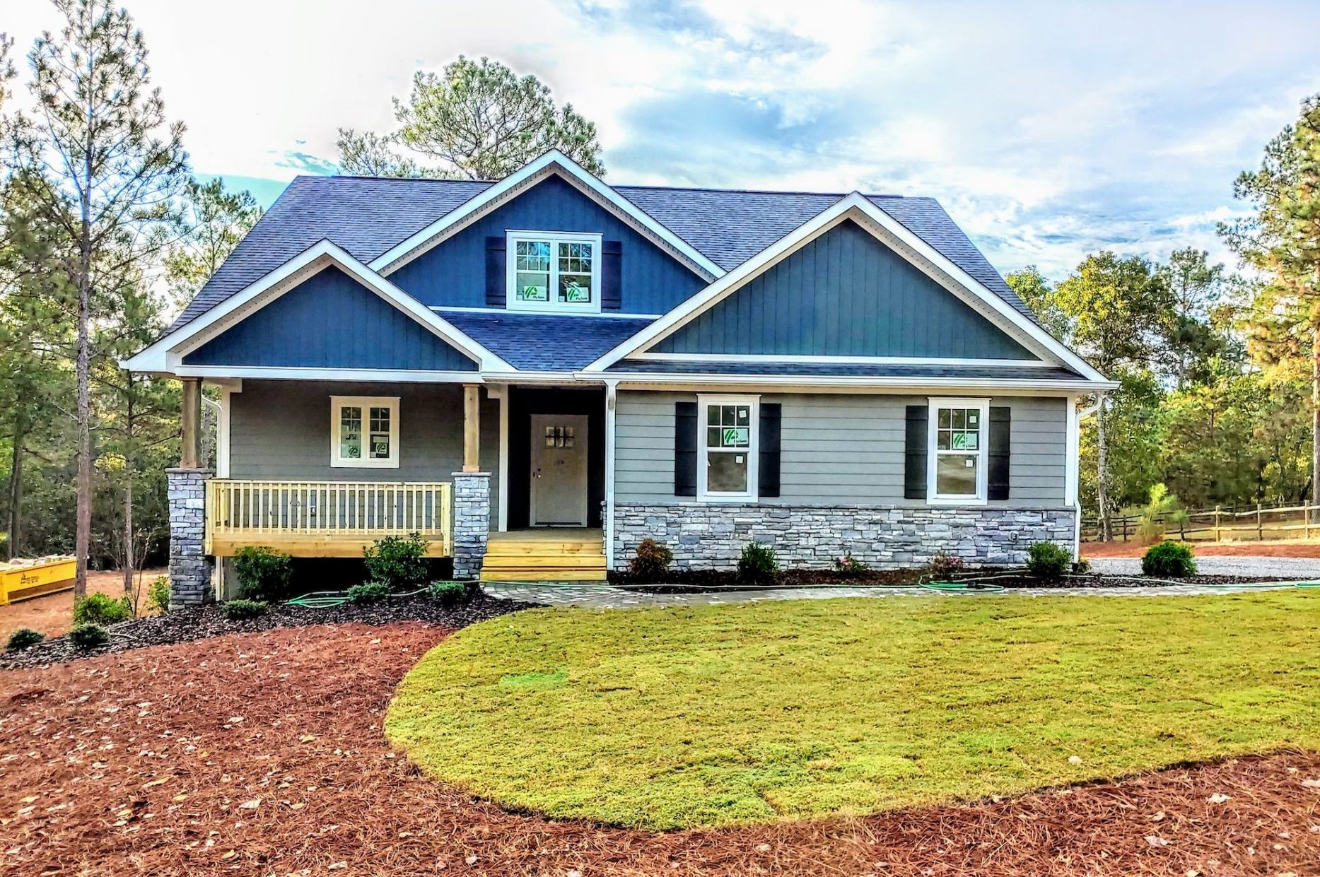 Seven Lakes NC Spec Home